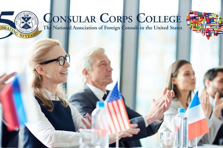 Online:  Panel:  International Trade Promotion - organized the The Consular Corps College picture