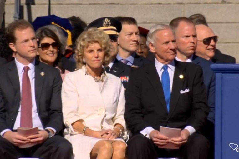 Columbia, SC:  Inauguration of Governor Henry McMaster and Lt.Gov. Pamela Evette picture